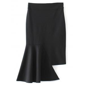 Bodycon Asymmetric Mermaid Skirt