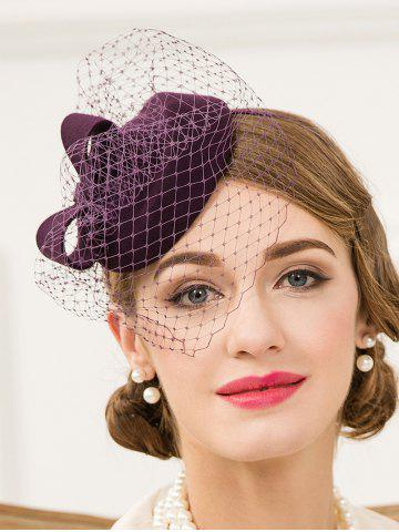 Chic Veil Pillbox Hairband Hat