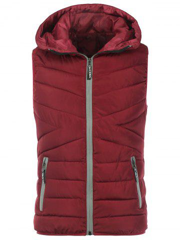 Latest Zip Up Puffer Hooded Vest