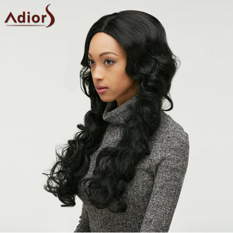 Fashion Adiors Fluffy Long Wavy Centre Parting Synthetic Wig
