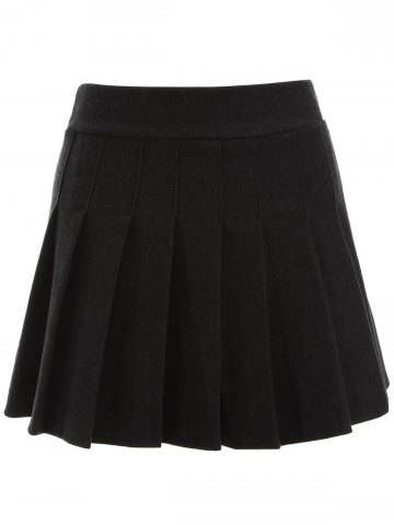 Outfits Pleated Mini Winter Skirt
