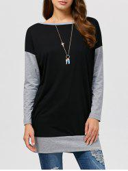 Drop Shoulder Longline Sweatshirt