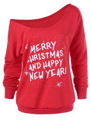 Merry Christmas And Happy New Year Sweatshirt