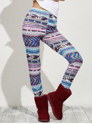 High Waist Tight Christmas Leggings