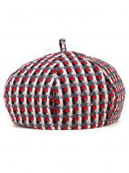 Crocheting Plaid Painter Beret -