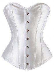 Lace-Up Steel Boned Underbust Corset