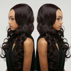 Long Fluffy Wavy Middle Parting Synthetic Wig -