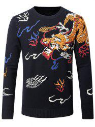 Thicken Dragon Pattern Sweater
