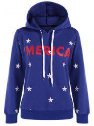 Graphic Star Pullover Hoodie