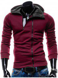 Long Sleeve Pocket Zippered Hoodie