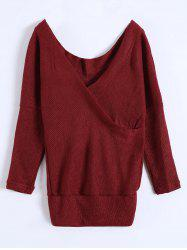 Deep V Neck Sweater -