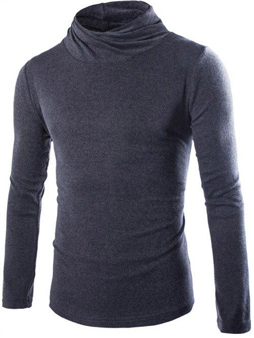 Shops Slim Fit High Neck Pullover Knitwear