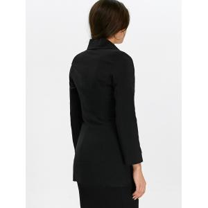 Shawl Collar Double Breasted Blazer -