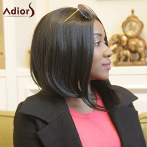 Adiors Short Straight Middle Parting Bob Synthetic Wig -