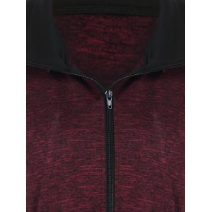 Plus Size Heather Hooded Coat -
