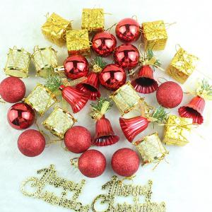 Christmas Supplies Xmas Tree Party Decor Pendants Set