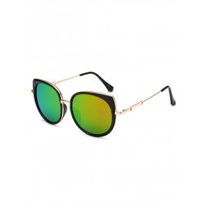 Polarized Cat Eye Mirrored Affordable Sunglasses