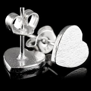 Mini Heart Shape Stud Earrings