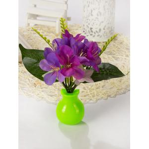 USB Charging Artificial Violet Decoration LED Night Light -