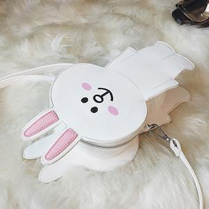 Zipper Bunny Cartoon Shoulder Bag -