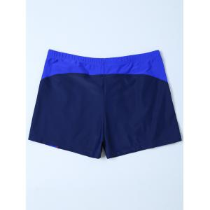 Contrast Surf Swimsuit Bottom Boyshorts -