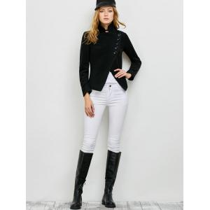 Stand Asymmetrical Jacket -