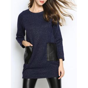 Casual Pocket Inset Oversized Sweater