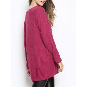 Casual Pocket Oversized Sweater -
