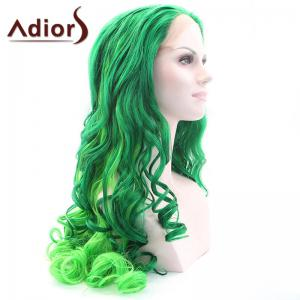 Adiors Long Shaggy Wavy Colormix Lace Front Synthetic Wig -