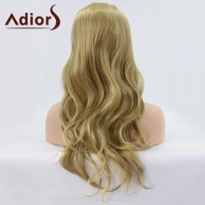 Adiors Long Wavy Lace Front Synthetic Wig -