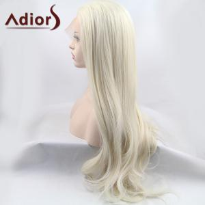 Adiors Ultra Long Shaggy Slightly Curled Lace Front Synthetic Wig -
