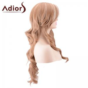Adiors Long Side Parting Highlight Body Wave Synthetic Wig - COLORMIX