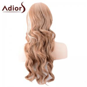 Adiors Long Side Parting Highlight Body Wave Synthetic Wig -