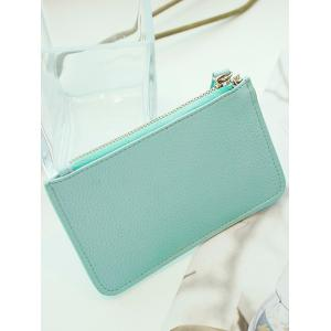 Textured PU Leather Bowknot Coin Purse -