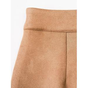 Mini Faux Suede Skirt -