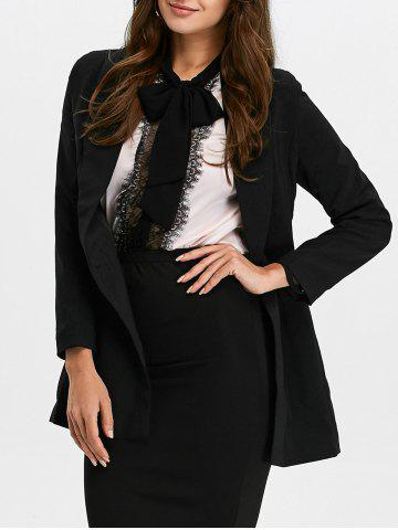 Shops Shawl Collar Double Breasted Blazer