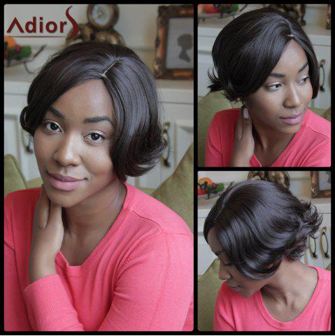 Sale Adiors Short Side Parting Synthetic Fluffy Straight Wig