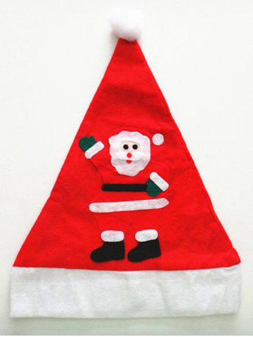Unique Christmas Party Supplies Non Woven Santa Claus Hat