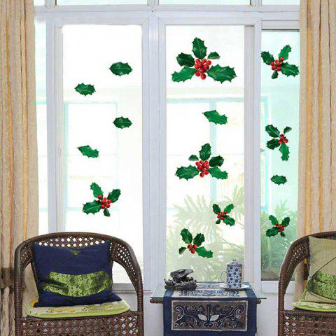 Cheap DIY Plant Shape Removable Room Window Wall Stickers