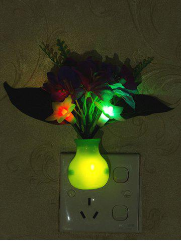 Buy USB Charging Artificial Violet Decoration LED Night Light