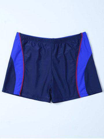 Unique Contrast Surf Swimsuit Bottom Boyshorts