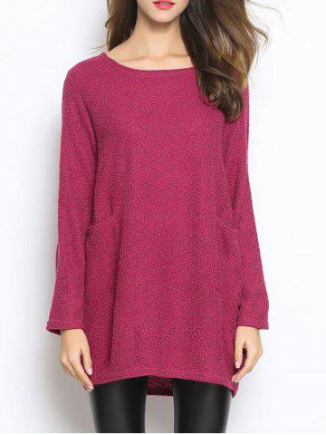 Sale Casual Pocket Oversized Sweater