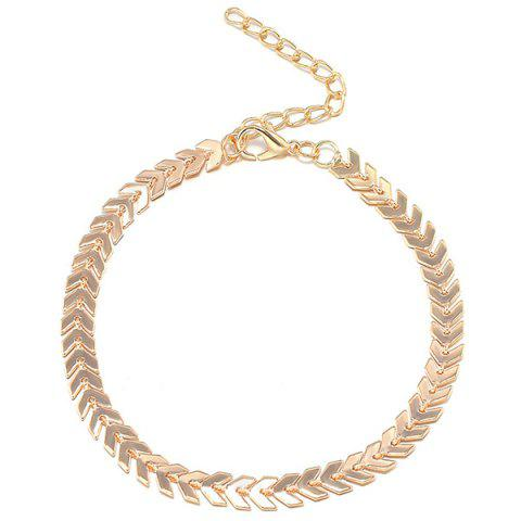 Store Arrow Chain Anklet