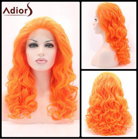 Outfit Adiors Long Shaggy Wavy Lace Front Synthetic Wig
