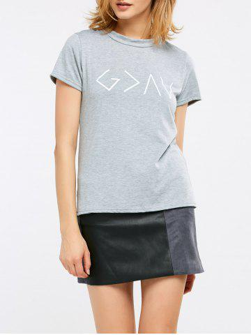 Unique Short Sleeve Graphic T-Shirt