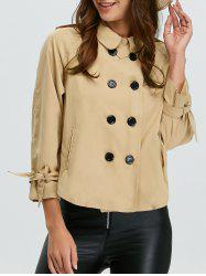 Epaulet Double Breasted Jacket