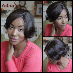Adiors Short Side Parting Synthetic Fluffy Straight Wig