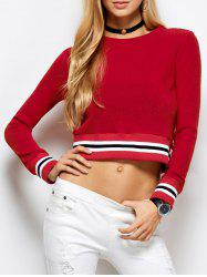 Knitted Cropped Sweater -