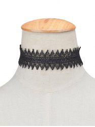 Hollow Out Lace Choker Necklace -