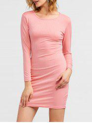 Cut Out Mini Bodycon Dress -